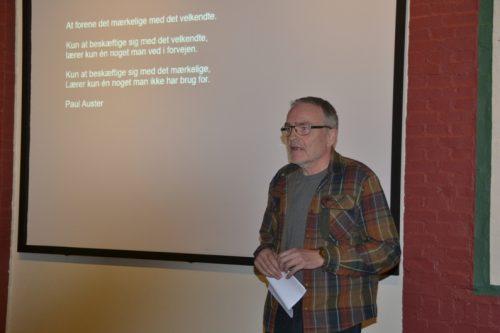 Mogens Jessing fortæller om sin kunst